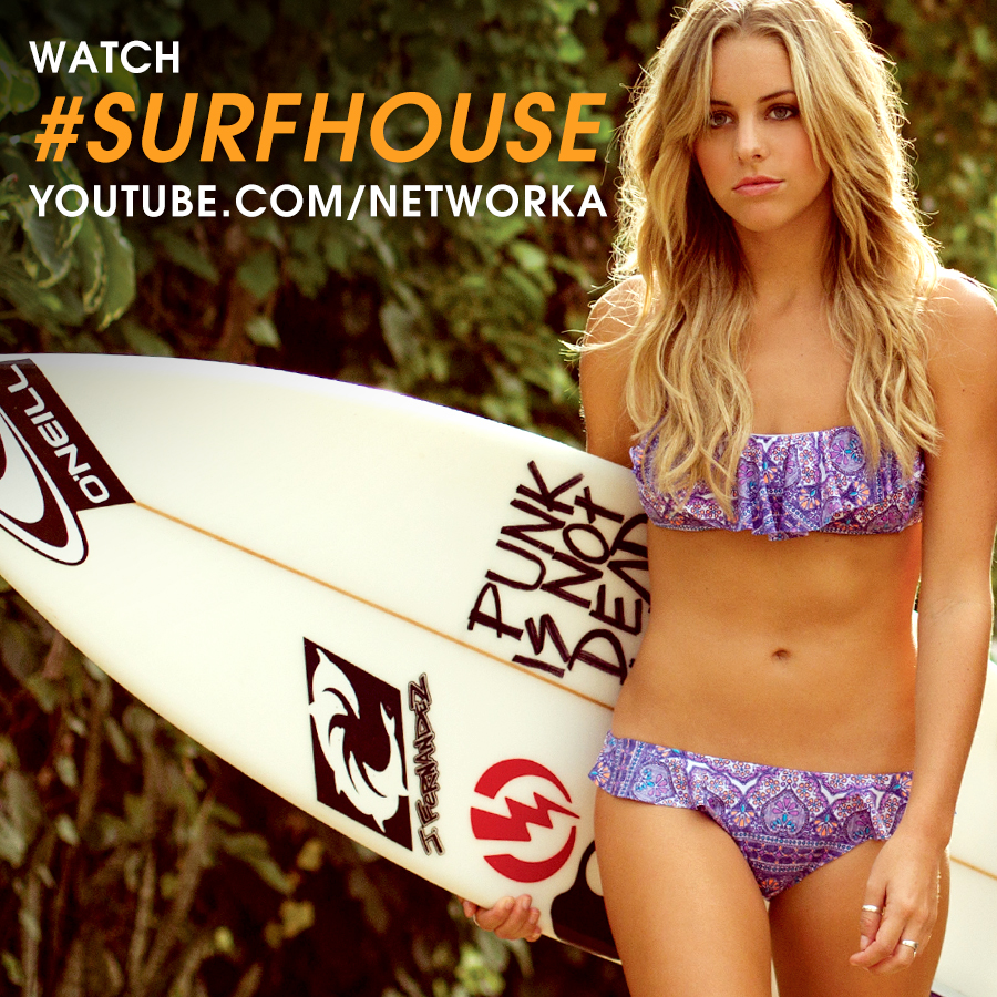 Ass and Surf – Hot Girls At Surfer Poll & Clay Marzo Ripping – Surf House  Ep.4 | On The Edge